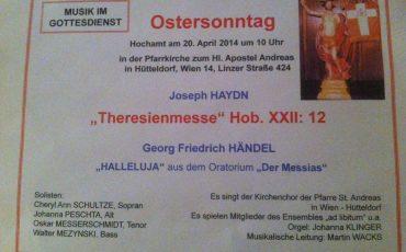 Haydn Missa Theresia