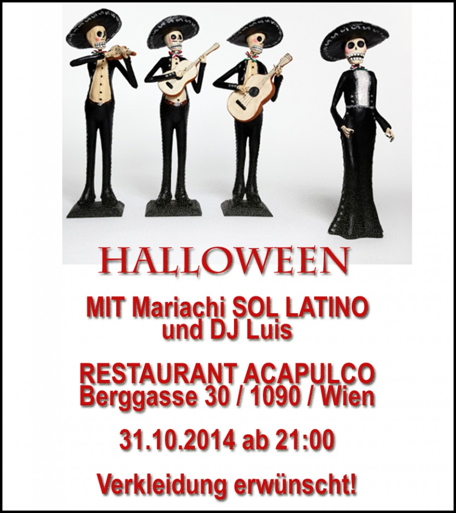 Halloween mit SOL LATINO