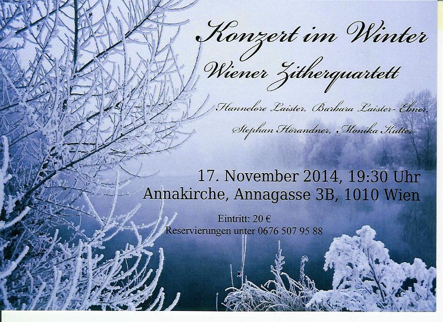 Konzert_Wiener_Zitherquartett