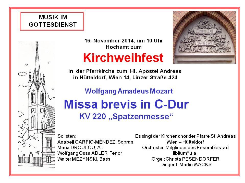 Spatzenmesse_2014_Kirchweihfest