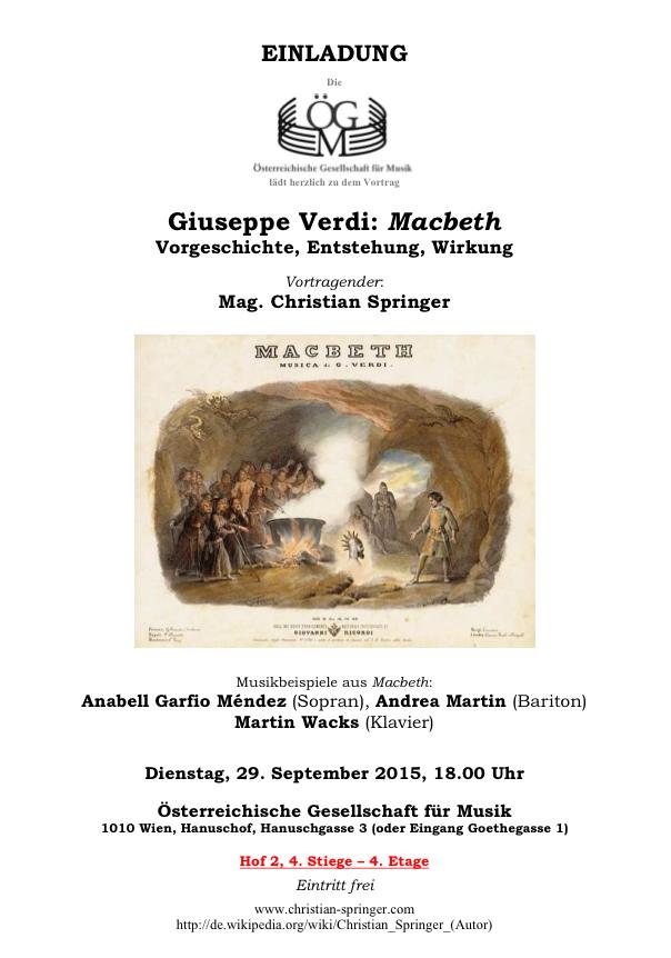 Springer Macbeth Anabell Garfio Andrea Martin Wacks