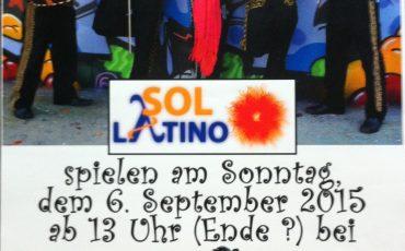 Gastspiel: Sol Latino im Bierheurigen
