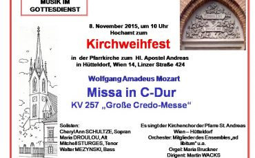Grosse Credomesse Mozart