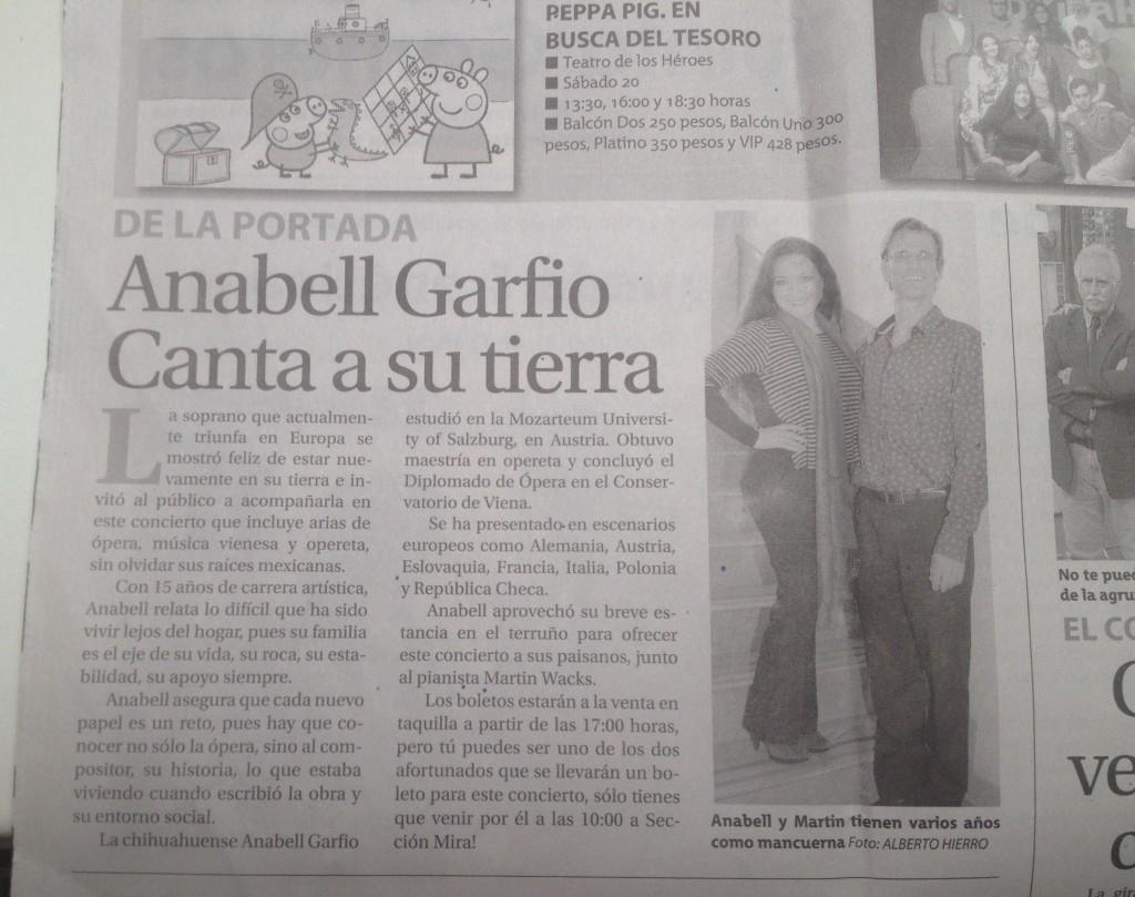 Press Heraldo de Chihuahua Feb 2016