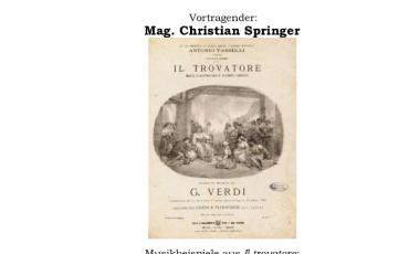 Il Trovatore – Verdi – Springer