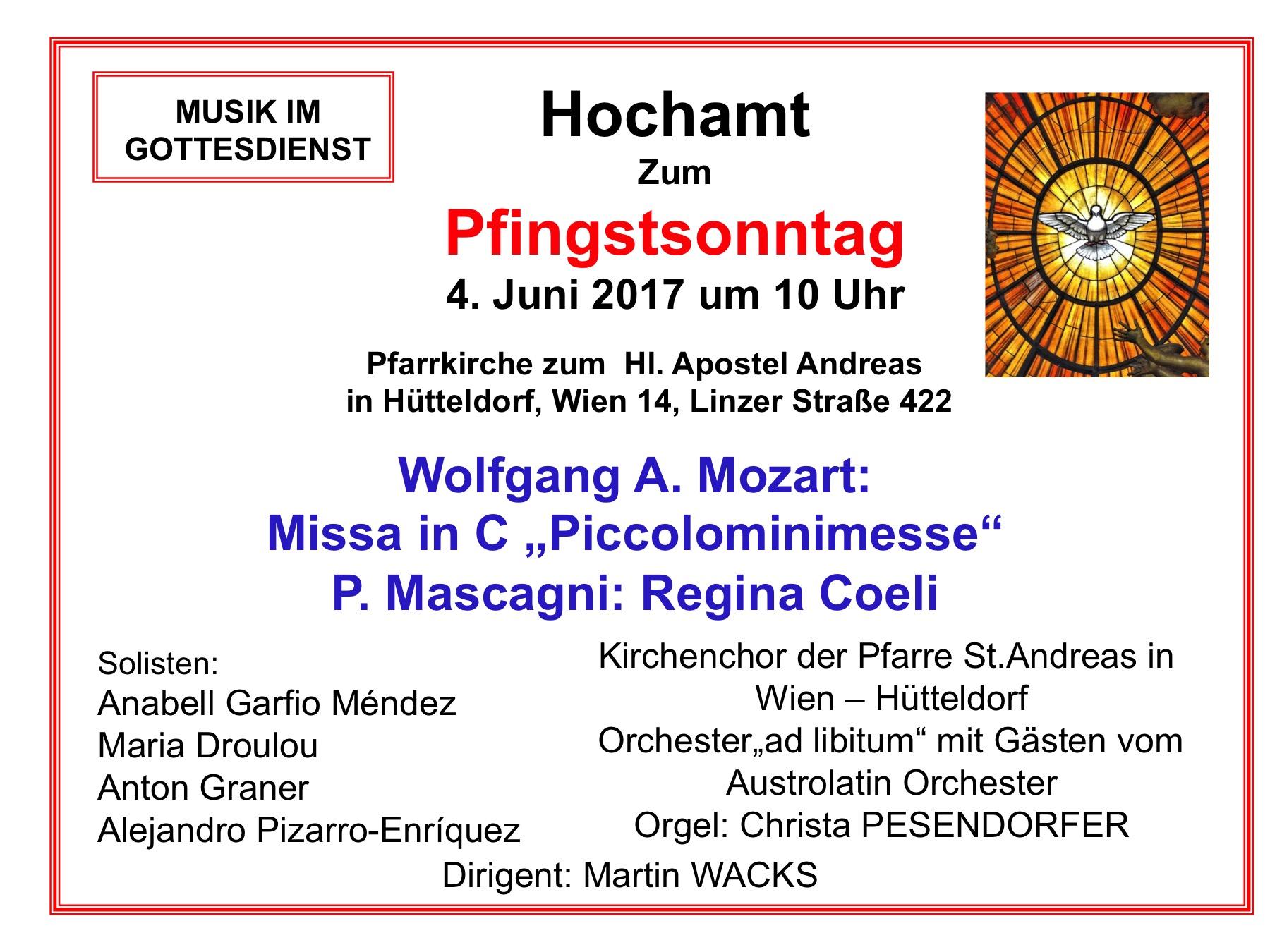 Mozart und Mascagni