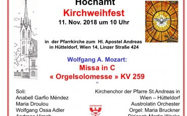 Mozart Orgelsolomesse