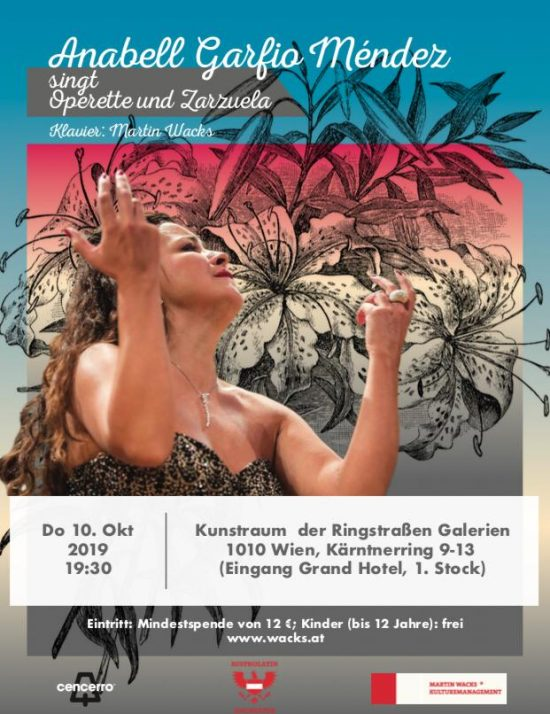 Anabell Garfio singt Operette und Zarzuela