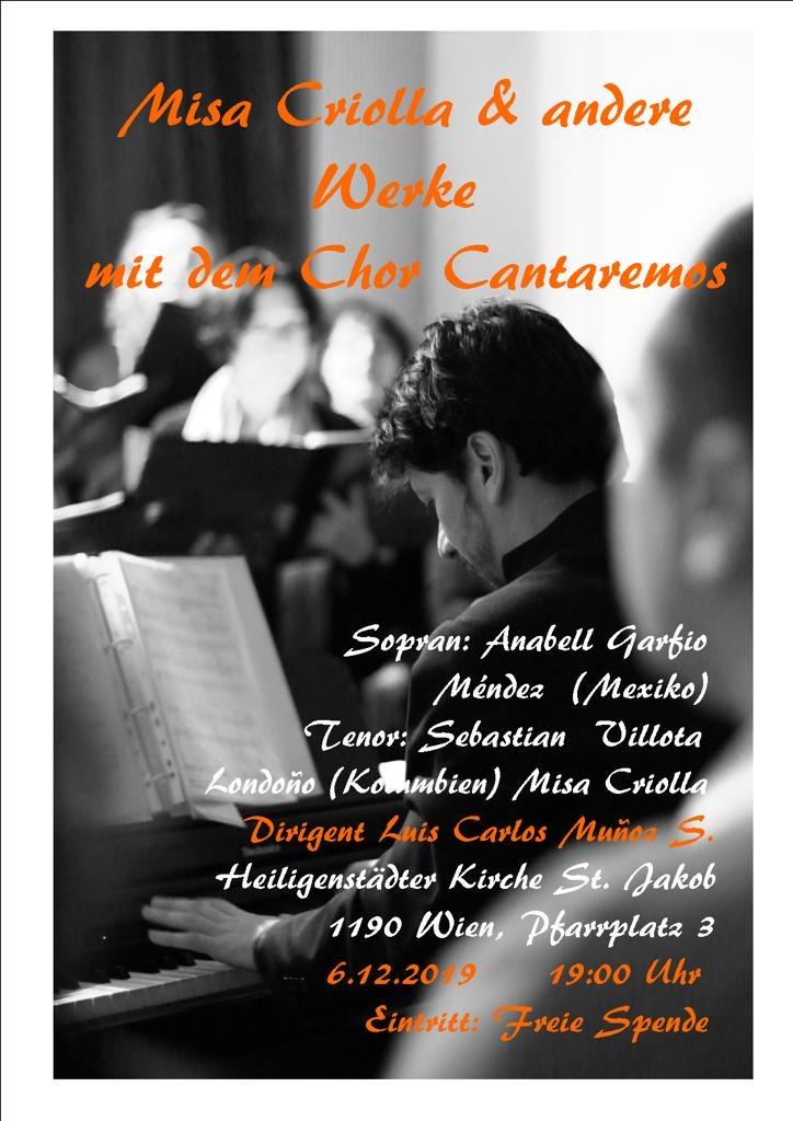 Konzert Cantaremos