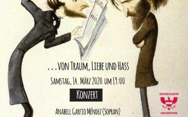 """Konzert """"…von Traum, Liebe und Hass"""" — in Bruck an der Leitha — verschoben!!!"""