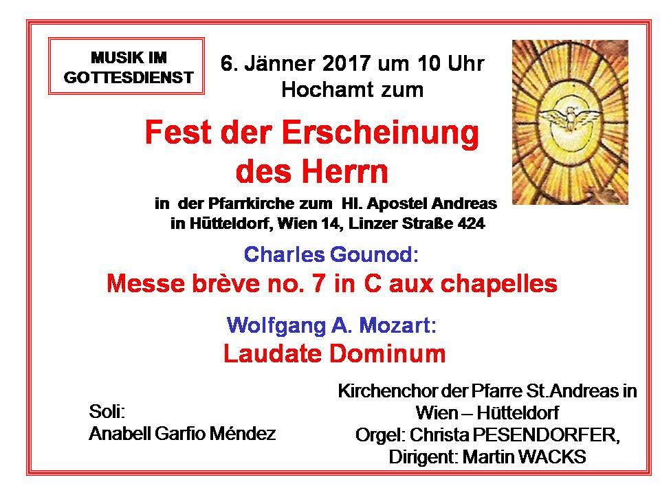 Gounod Messe brève aux chapelles