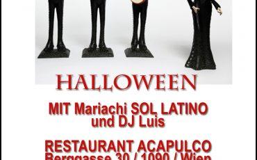 Halloween Mariachi mit SOL LATINO