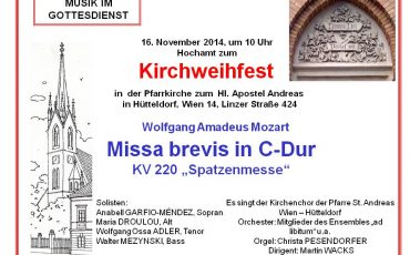 Mozart: Spatzenmesse