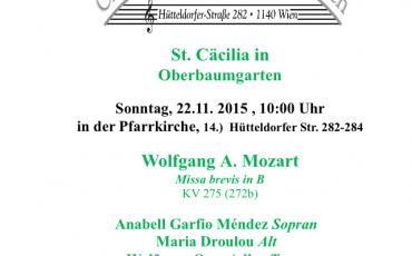 Mozart Missa brevis in B