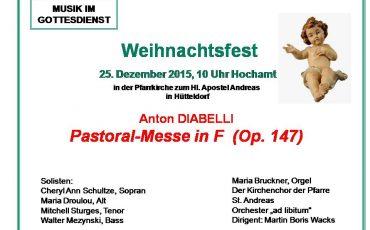 Pastoralmesse Diabelli