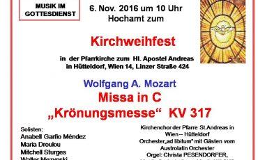 Missa Coronation Mozart