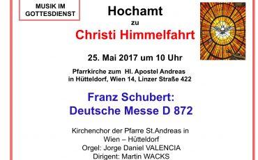 Deutsche Messe von Schubert
