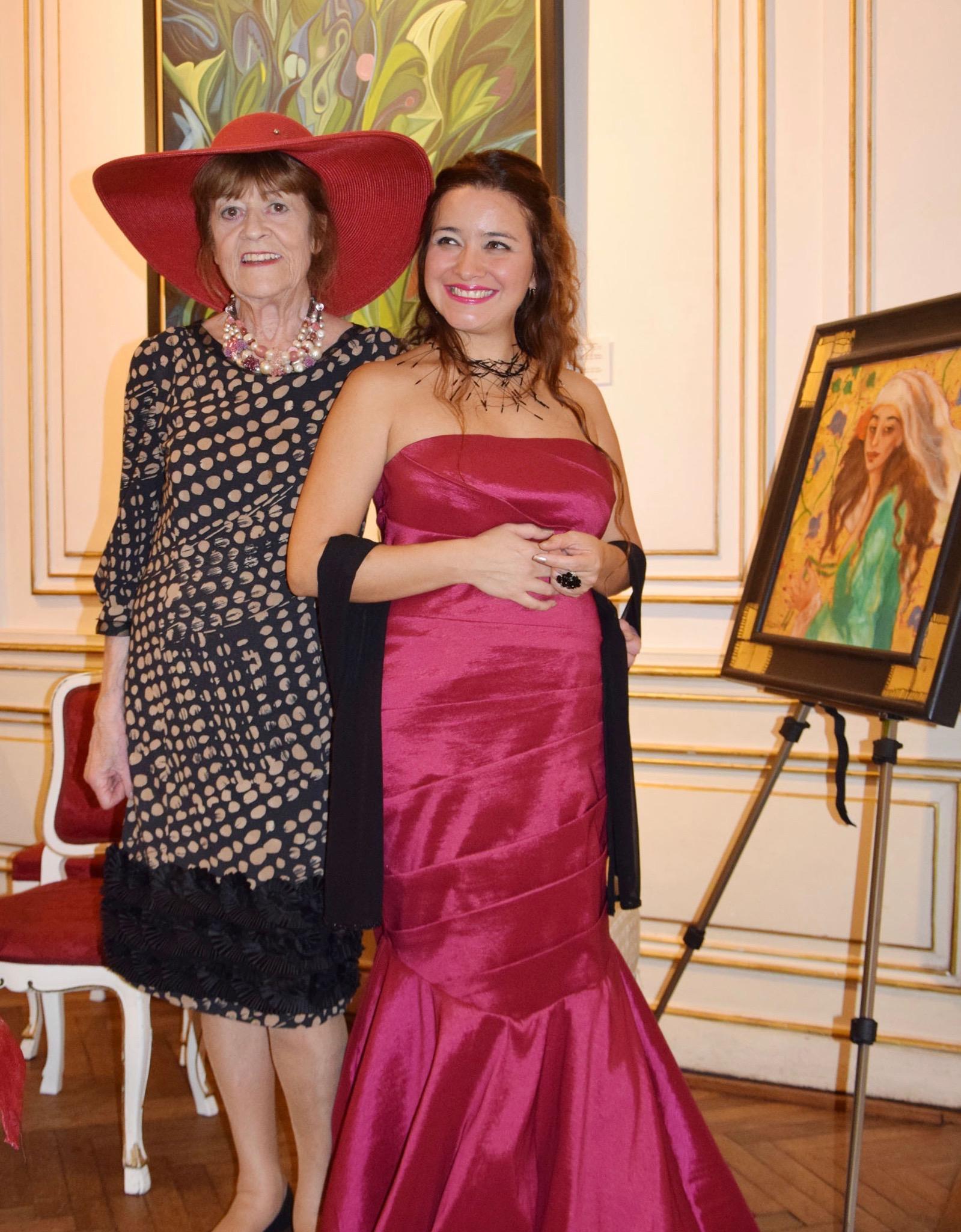 Anabell Garfio bei Dina Larot: Samsara