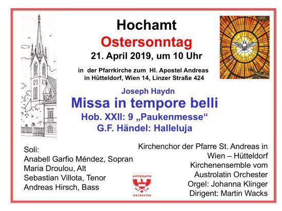Haydn Missa in tempore belli 2019