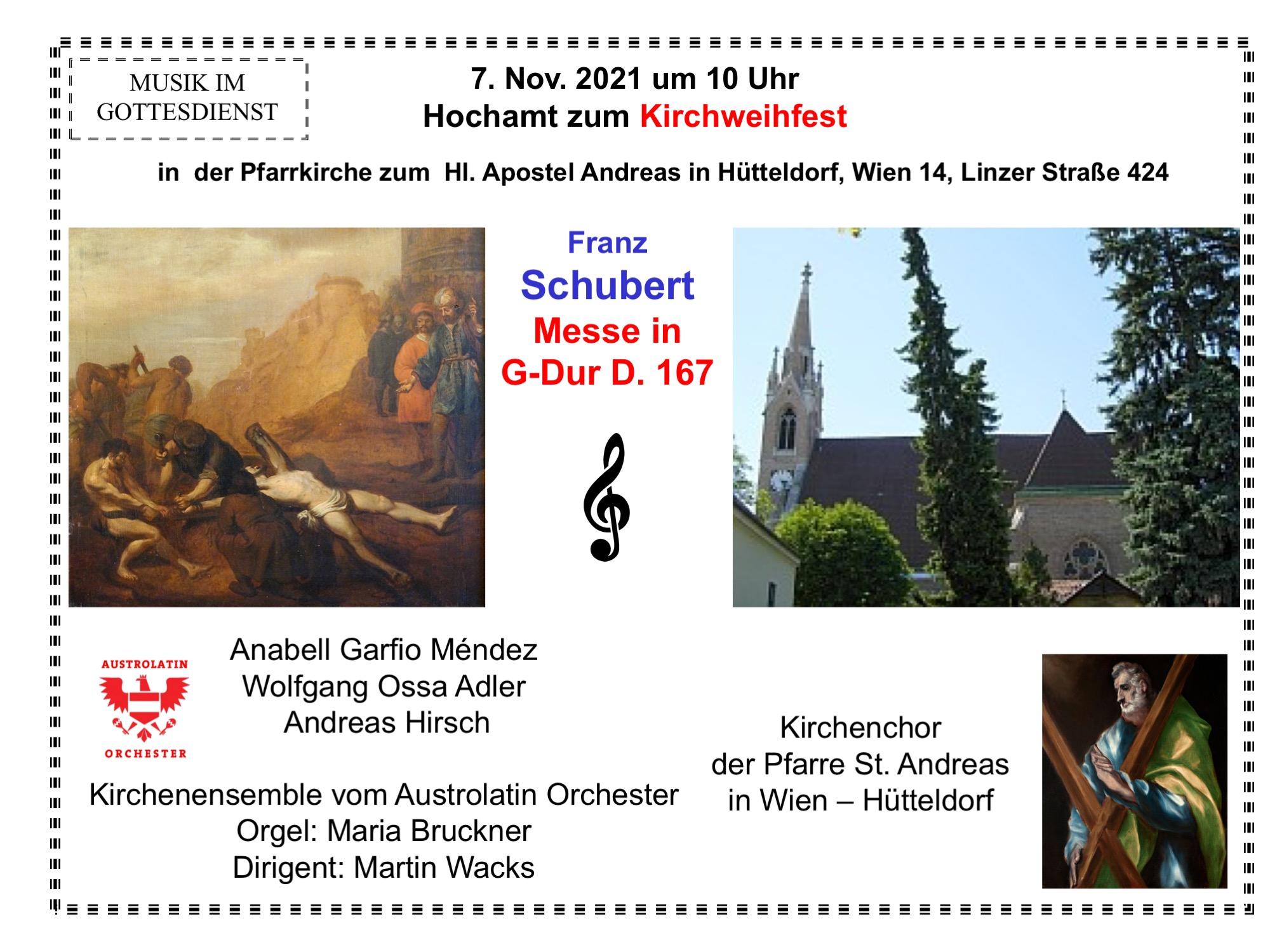Schubert: Messe in G-Dur